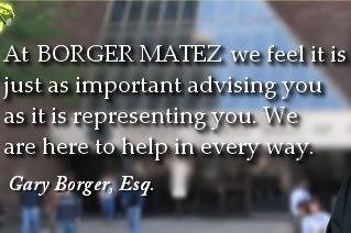 At Borger Family Law we are here to help in any way